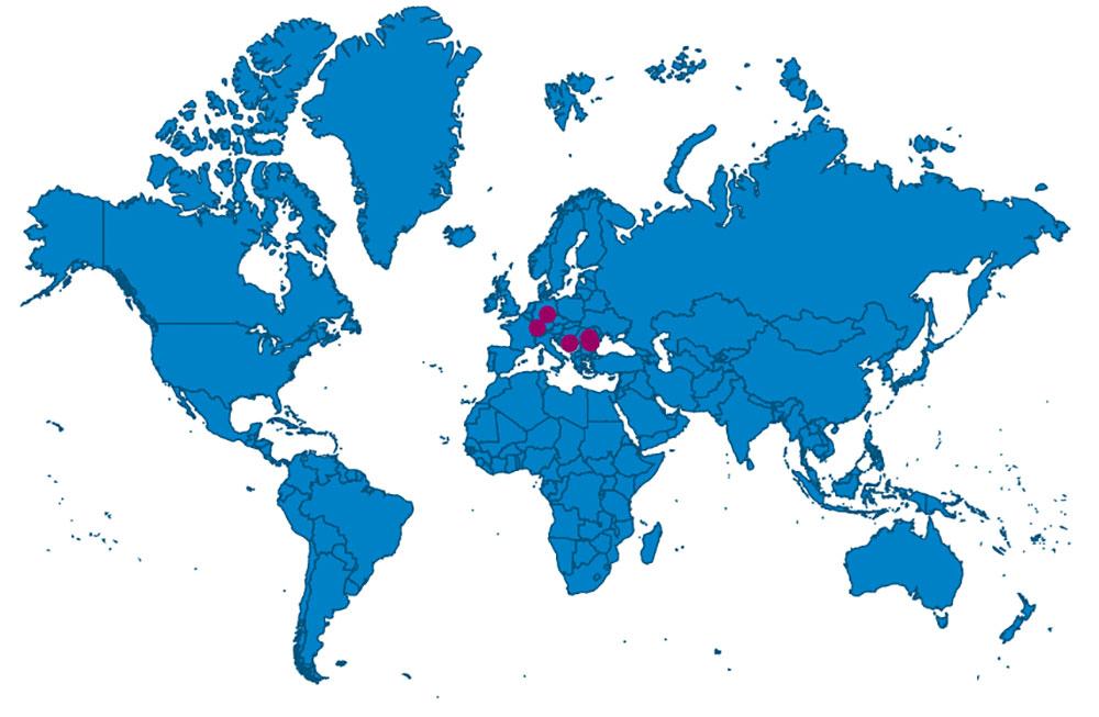 Carte des DPI pour l'ICOM